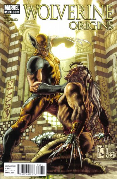 Cover for Wolverine: Origins (Marvel, 2006 series) #48