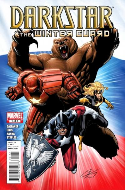 Cover for Darkstar and the Winter Guard (Marvel, 2010 series) #1