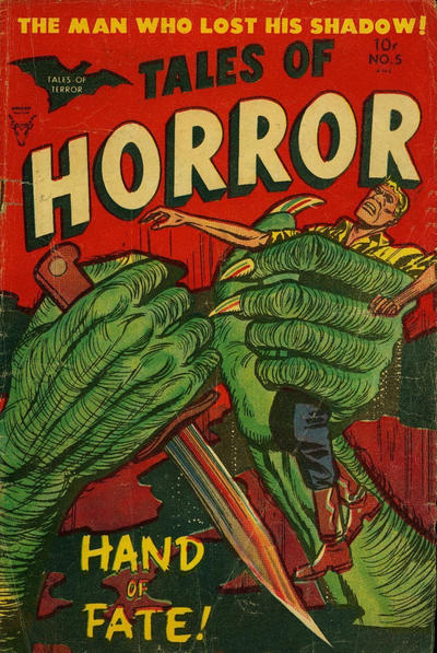 Cover for Tales of Horror (Superior, 1952 series) #5