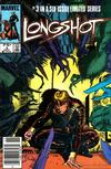 Cover Thumbnail for Longshot (1985 series) #3 [Newsstand]