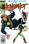 Cover Thumbnail for Longshot (1985 series) #4 [Newsstand]