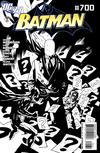 Cover for Batman (DC, 1940 series) #700 [Mike Mignola Black & White Cover]