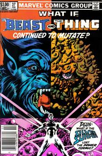 Cover Thumbnail for What If? (Marvel, 1977 series) #37 [Newsstand]