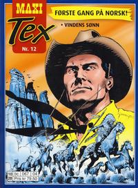 Cover Thumbnail for Maxi Tex (Hjemmet / Egmont, 2008 series) #12