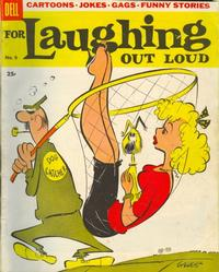 Cover Thumbnail for For Laughing Out Loud (Dell, 1956 series) #5