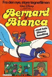 Cover Thumbnail for Bernard og Bianca (Hjemmet / Egmont, 1978 series)