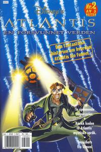 Cover Thumbnail for Atlantis (Hjemmet / Egmont, 2001 series) #2