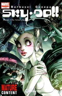 Cover Thumbnail for Sky Doll (Marvel, 2008 series) #1