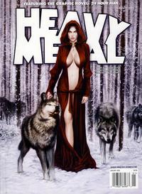 Cover Thumbnail for Heavy Metal Magazine (Heavy Metal, 1977 series) #v32#9