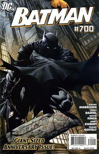 Cover Thumbnail for Batman (DC, 1940 series) #700 [Cover A - David Finch]