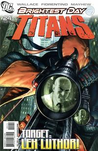 Cover Thumbnail for Titans (DC, 2008 series) #24