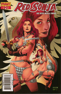 Cover Thumbnail for Red Sonja (Dynamite Entertainment, 2005 series) #49 [Cover A]