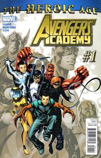 Cover Thumbnail for Avengers Academy (Marvel, 2010 series) #1
