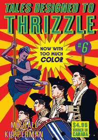 Cover Thumbnail for Tales Designed to Thrizzle (Fantagraphics, 2005 series) #6