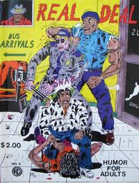 Cover Thumbnail for Real Deal (Real Deal Productions, 1989 series) #3