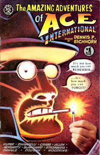 Cover Thumbnail for The Amazing Adventures of Ace International (Starhead Comix, 1993 series) #1
