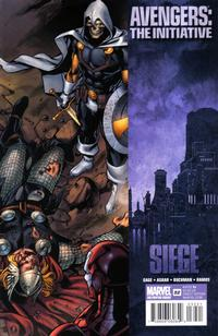 Cover Thumbnail for Avengers: The Initiative (Marvel, 2007 series) #32 [Second Printing]