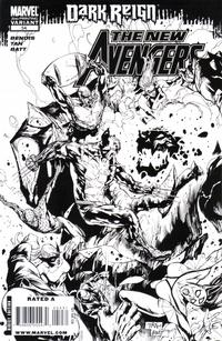 Cover Thumbnail for New Avengers (Marvel, 2005 series) #54 [Second Printing]