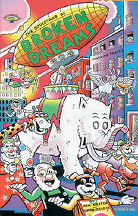 Cover Thumbnail for The Boulevard of Broken Dreams (Fantagraphics, 1993 series)