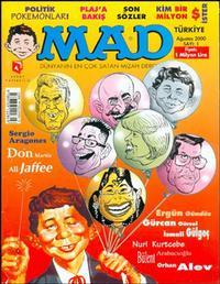 Cover Thumbnail for Türkiye MAD (Aksoy Yayıncılık, 2000 series) #1