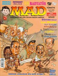 Cover Thumbnail for Türkiye MAD (Aksoy Yayıncılık, 2000 series) #2
