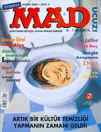 Cover Thumbnail for Türkiye MAD (Aksoy Yayıncılık, 2000 series) #4