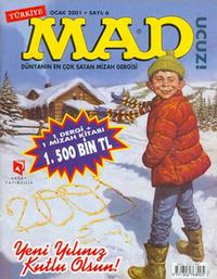 Cover Thumbnail for Türkiye MAD (Aksoy Yayıncılık, 2000 series) #6
