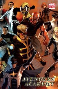 Cover Thumbnail for Avengers Academy (Marvel, 2010 series) #1 [Djurdjevic Variant Cover]
