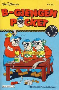 Cover Thumbnail for B-Gjengen pocket (Hjemmet / Egmont, 1986 series) #1