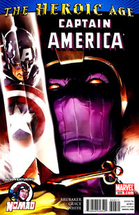 Cover Thumbnail for Captain America (Marvel, 2005 series) #606 [Direct Edition]