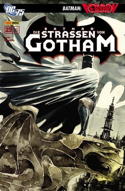 Cover for Batman Sonderband (Panini Deutschland, 2004 series) #25 - Die Straßen von Gotham