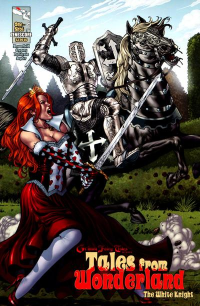 Cover for Tales from Wonderland: The White Knight (Zenescope Entertainment, 2010 series)  [cover b]
