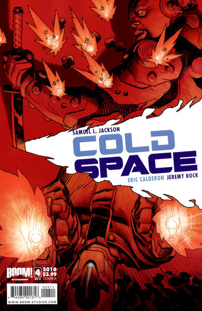 Cover for Cold Space (Boom! Studios, 2010 series) #4 [Cover A]