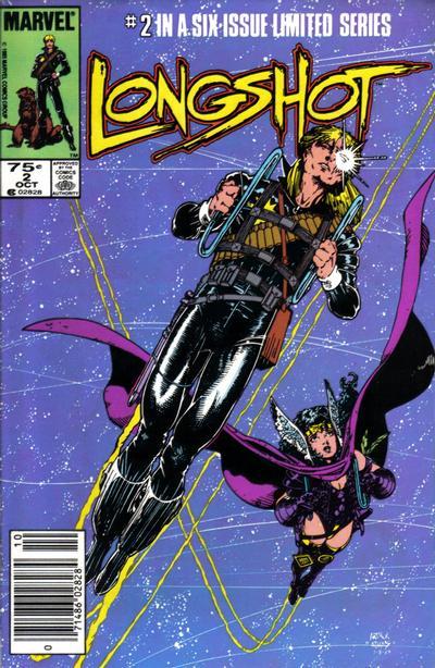 Cover for Longshot (Marvel, 1985 series) #2 [Newsstand]
