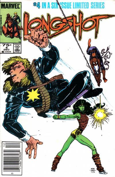 Cover for Longshot (Marvel, 1985 series) #4 [Direct]