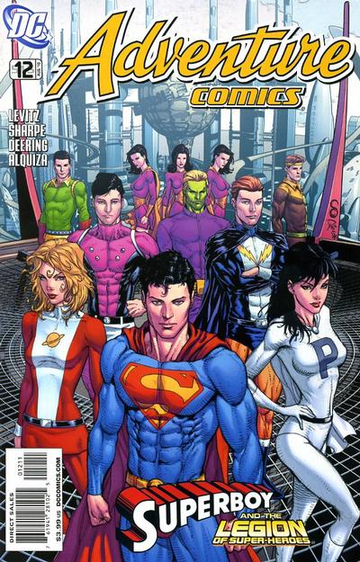 Cover for Adventure Comics (DC, 2009 series) #12 / 515 [Cover A]