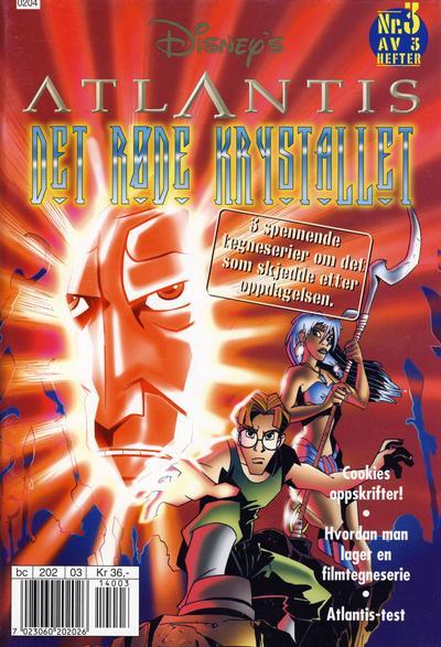 Cover for Atlantis (Hjemmet / Egmont, 2001 series) #3