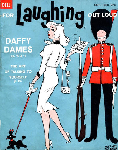 Cover for For Laughing Out Loud (Dell, 1956 series) #17