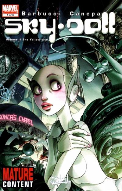 Cover for Sky Doll (Marvel, 2008 series) #1