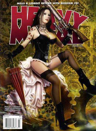 Cover for Heavy Metal Magazine (Heavy Metal, 1977 series) #v34#1