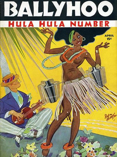 Cover for Ballyhoo (Dell, 1931 series) #v8#3