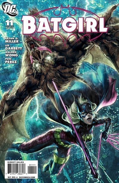 Cover for Batgirl (DC, 2009 series) #11