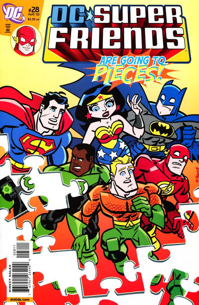 Cover for Super Friends (DC, 2008 series) #28