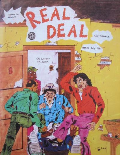 Cover for Real Deal (Real Deal Productions, 1989 series) #6