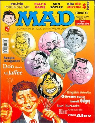 Cover for Türkiye MAD (Aksoy Yayıncılık, 2000 series) #1