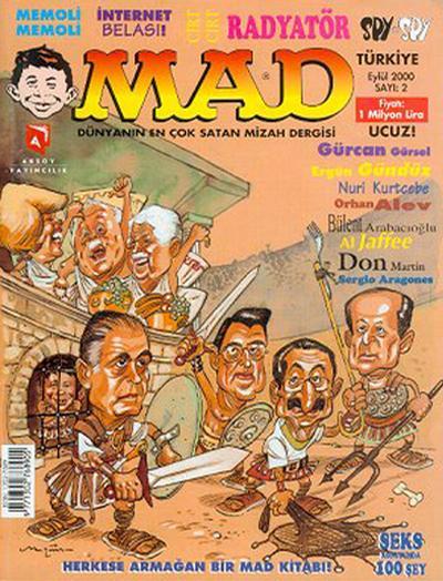 Cover for Türkiye MAD (Aksoy Yayıncılık, 2000 series) #2