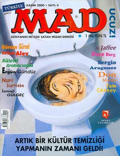 Cover for Türkiye MAD (Aksoy Yayıncılık, 2000 series) #4