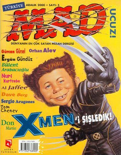 Cover for Türkiye MAD (Aksoy Yayıncılık, 2000 series) #5