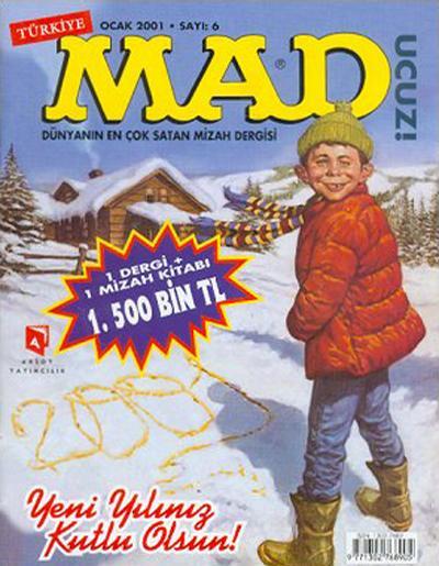 Cover for Türkiye MAD (Aksoy Yayıncılık, 2000 series) #6