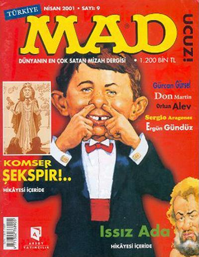 Cover for Türkiye MAD (Aksoy Yayıncılık, 2000 series) #9